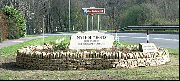 New Mytholmroyd sign